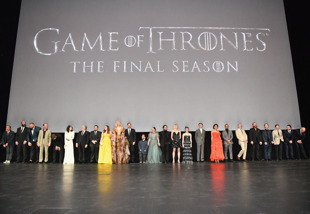 Premiere De Game Of Thrones Reunio Al Elenco Historico De La Serie