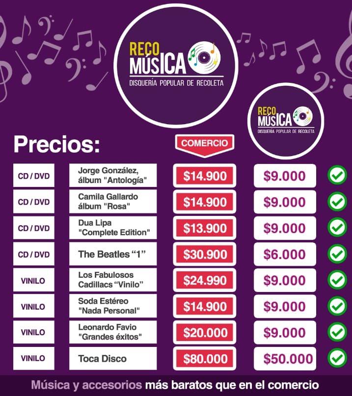Daniel Jadue anunció una disquería popular en Recoleta — RecoMúsica
