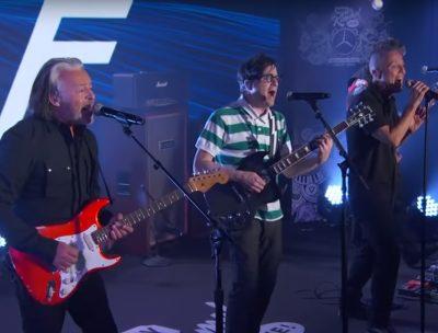 Tears For Fears y Weezer tocaron juntos en la TV estadounidense