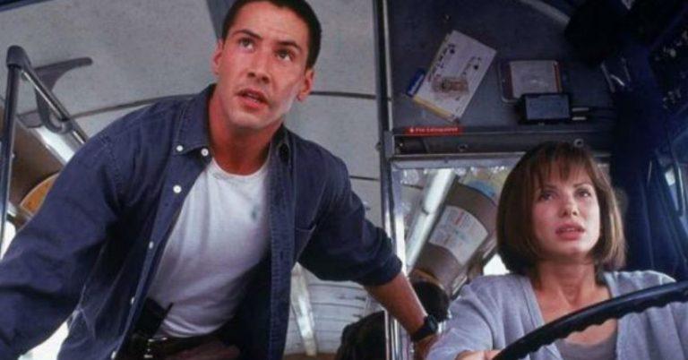 Keanu Reeves también sintió cosas por Sandra Bullock — Máxima Velocidad