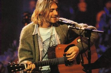 chaleco MTV Kurt Cobain