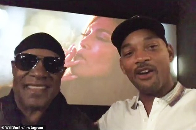 stevie wonder will smith
