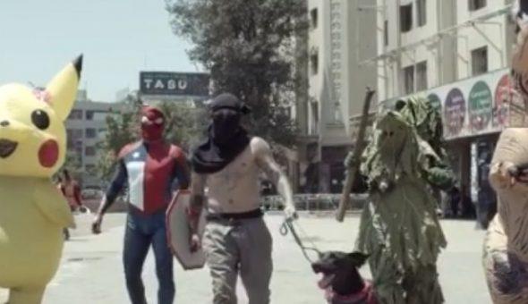 avengers chilenos