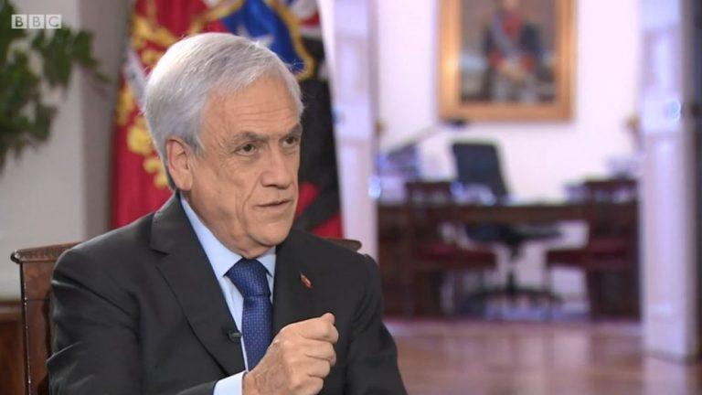 piñera bbc