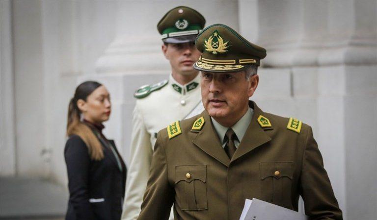 Escándalo en redes sociales por audio filtrado del General Director de Carabineros