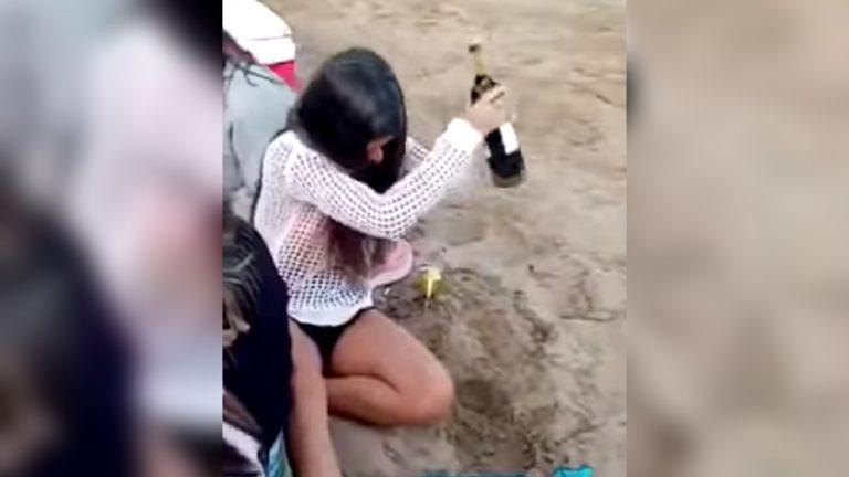 Botella de vino sacacorchos