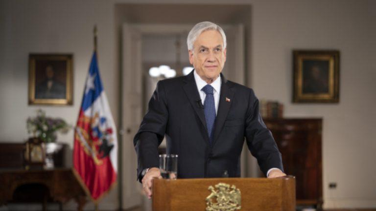 Piñera anuncia en cadena nacional reforma pensiones