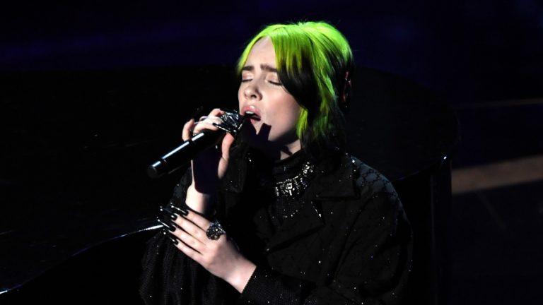 Billie Eilish Oscars Yesterday web