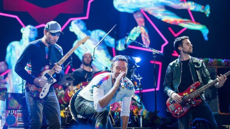 Coldplay web