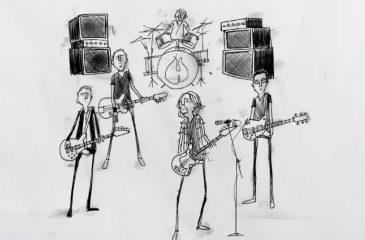 Pearl Jam toon web