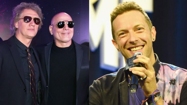 Soda Stereo y Chris Martin