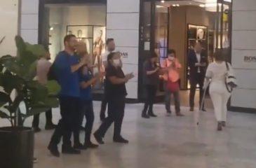 Mall protestas