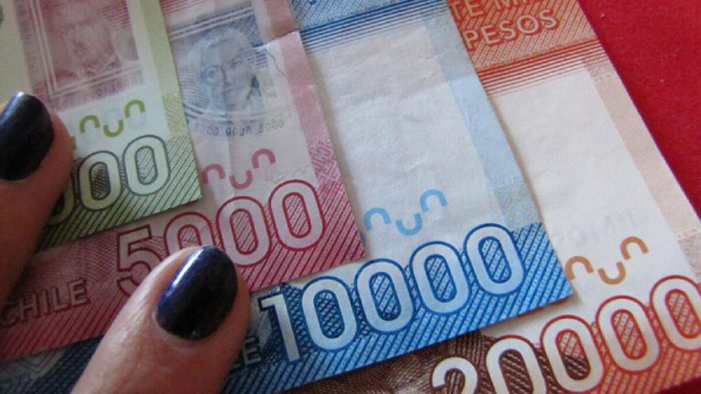 Billetes chilenos ingreso familiar de emergencia