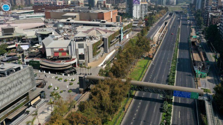 Contaminación calles santiago web