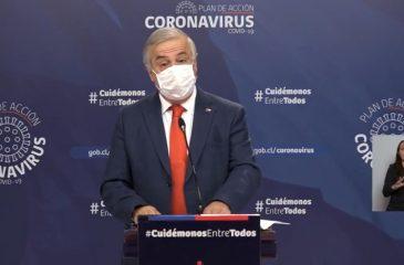 Mañalich Coronavirus 9 abril