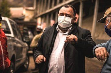 Claudio Segovia alcalde de Graneros drogas web