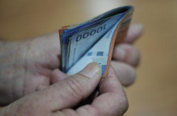 Billetes chilenos ingreso de emergencia web