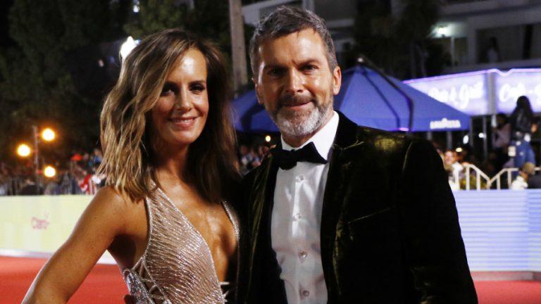 Cristian Sánchez y Diana Bolocco