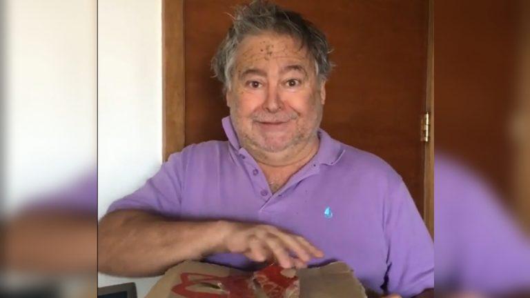 Ernesto Belloni caja de alimentos