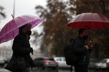 Lluvia santiago pandemia precipitaciones lluvias