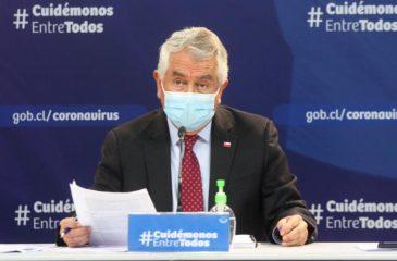 6 de julio Enrique Paris ministro de salud covid-19 web