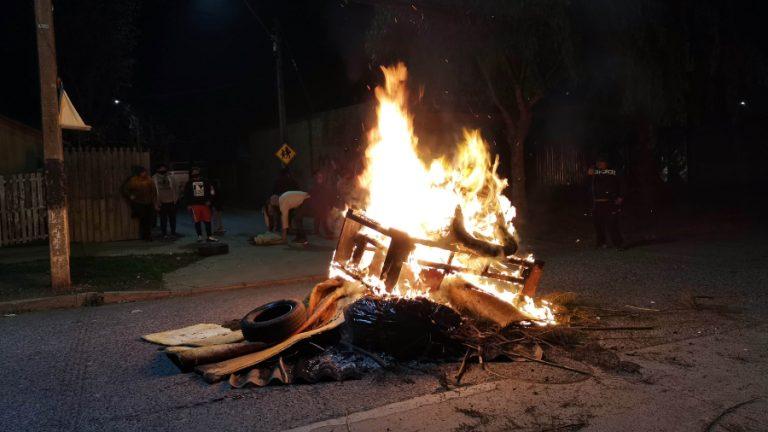 Cacerolazo y barricadas maipú web