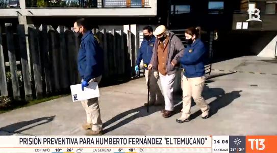 Tito Fernández prisión preventiva PDI