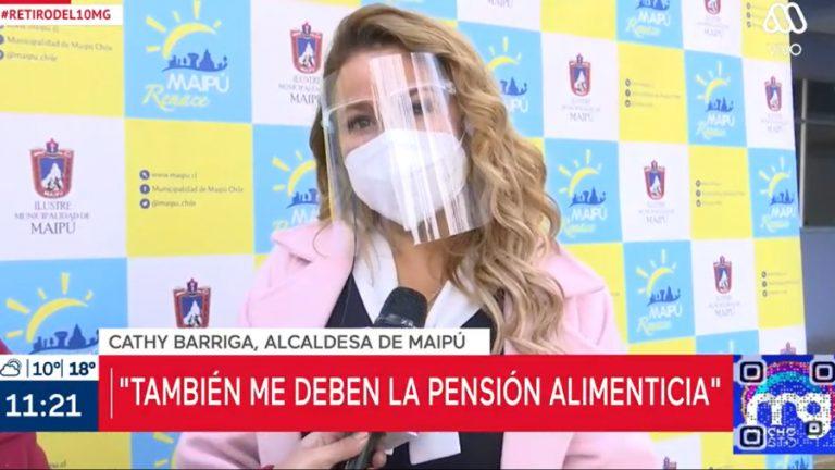 CAthy Barriga Pensión Alimenticia