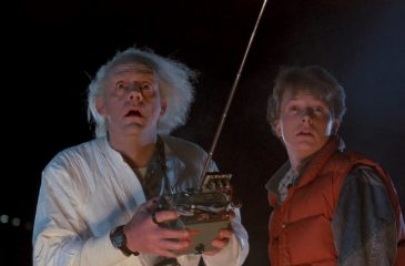 Volver al futuro Back to the future web