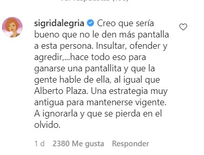Sigrid Alegría Patricia Maldonado