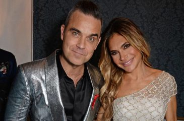 Robbie Williams Ayda Field web