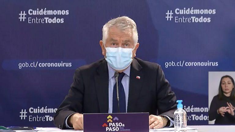 Covid-19 ministro enrique Paris salud