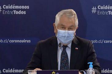 11 de agosto Covid-19 ministro paris ministerio de salud