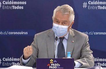 19 agosto covid-19 ministro de salud enrique paris