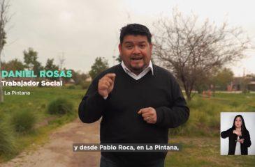 Franja del Rechazo Pablo Roca