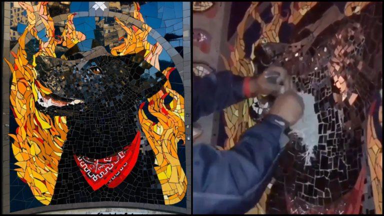 Negro Matapacos mosaico web