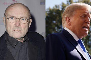 Phil Collins Cease and desist trump