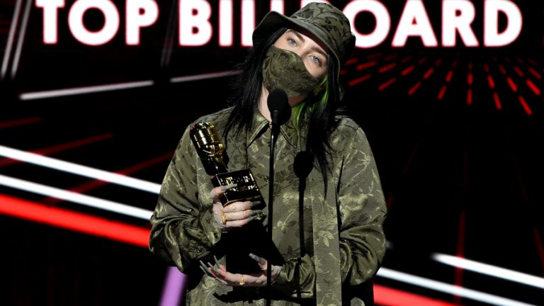 Billie Eilish Billboard 2020 GettyImages-1280246820 web