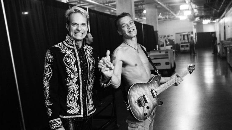 David Lee Roth Eddie Van Halen web