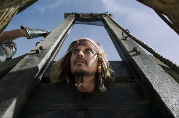 Johnny Depp piratas del caribe
