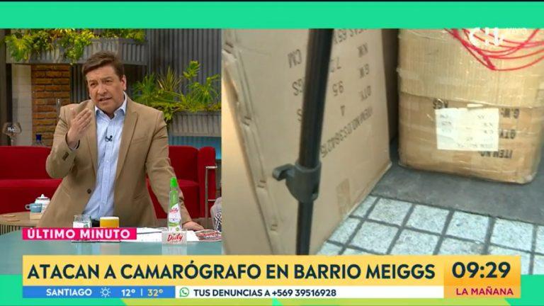 Barrio Meiggs nota contigo en la mañana camarógrafo