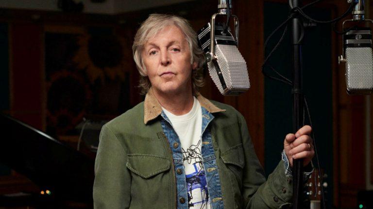 Paul McCartney III lanzamiento web
