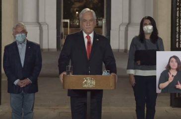 Piñera Pide Postergar Elecciones