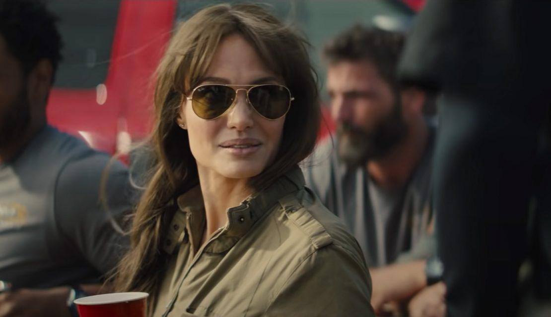Angelina Jolie En La Filmación