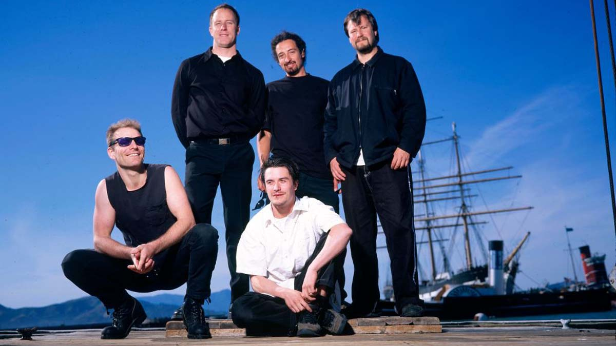 Photo Of FAITH NO MORE And Jon HUDSON And Roddy BOTTUM And Mike PATTON And Mike BORDIN