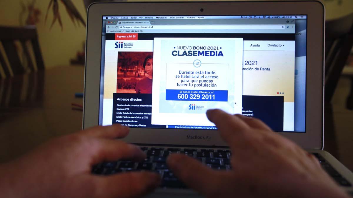 La Pagina Web De SII Presenta Retraso Para Postulación Del Bono Clase Media