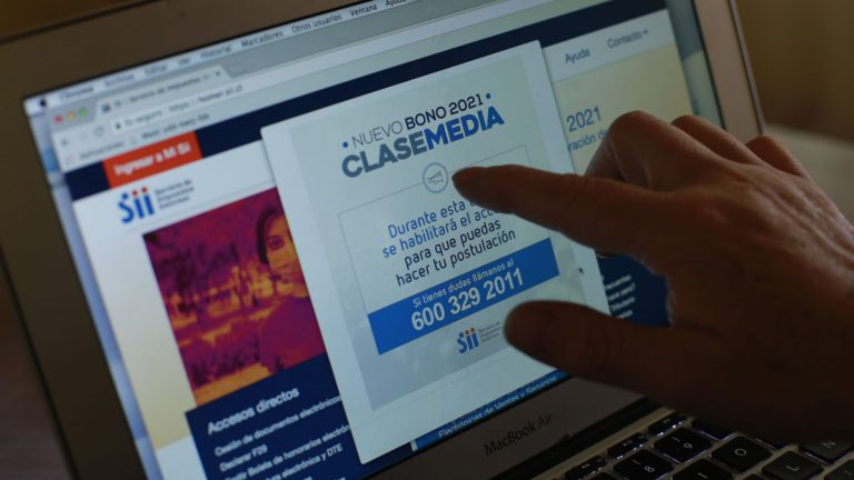 La Pagina Web De SII Presenta Retraso Para Postulación Del Bono de Clase Media