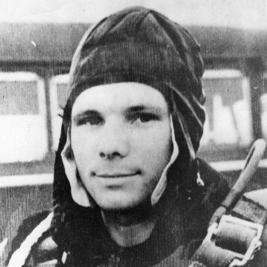 Gagarin Con 27 Años, Abril De 19961