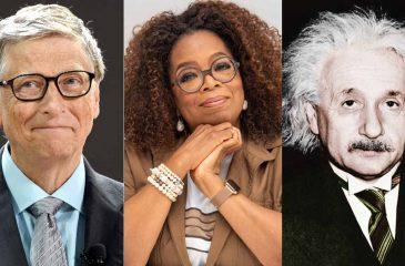 Genios Bill Gates Oprah Winfrey Albert Einstein