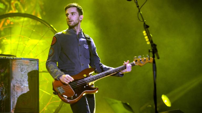 Coldplay Guy Berryman